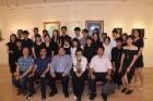 逸仙藝廊展出「行路中-國立臺灣藝術大學書畫藝術學系107級日間部畢業展」。