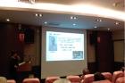 簡報室舉行導讀會,由本館邱啟瑗助理研究員導讀鄭貞銘教授主編的《百年風雲》一書,參加人數23人。