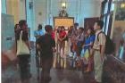 本館楊副館長帶領同仁至國立臺灣博物館觀摩學習,該館除專人導覽接待外,並與本館辦理古蹟業務交流座談會。