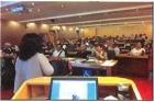 本館與文官學院於中山講堂合辦「機率思考」專書導讀會,邀請中華經濟研究院研究員兼主任溫麗琪主講,參加人數80人,獲得廣大迴響。