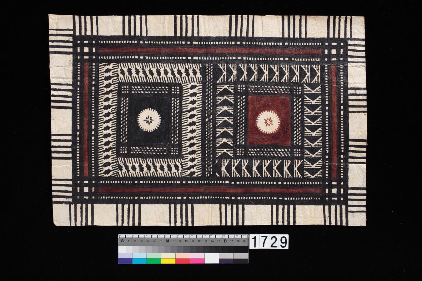圖6 樹皮布(1982年,斐濟)