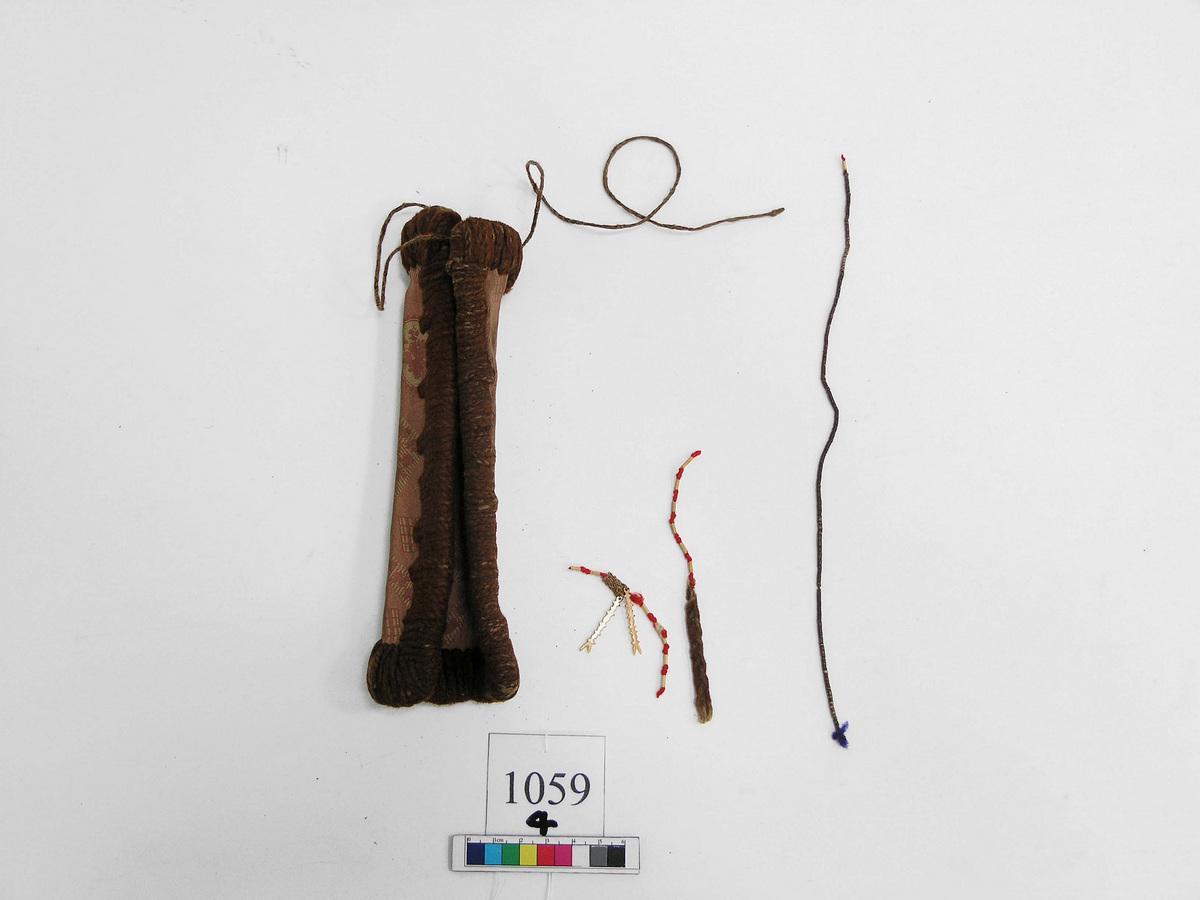 圖7 傳統的貝珠錢錢包(美拉尼西亞)