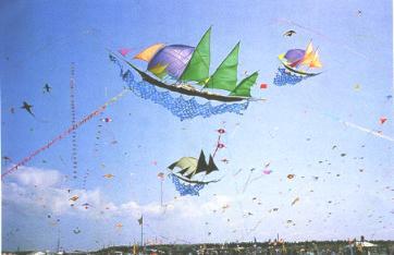 帆船隊風箏