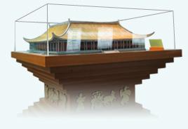 國立國父紀念館縮小實體模型