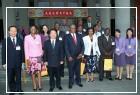 史瓦濟蘭總理德拉米尼Barnabas S. Dlamini一行18人來館參訪