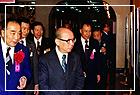 中國郵票發行百年紀念郵展在本館第三展室、勵學室及南北畫廊展出,嚴總統家淦先生蒞臨參觀