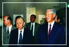 李總統參觀呂佛庭畫展