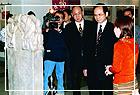 總統府秘書長游錫(方方土)參觀山西永樂宮壁畫