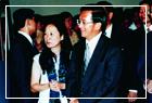 陳水扁總統參觀林風眠畫展