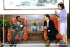 史瓦濟蘭王國外交暨貿易部長H. E. Abednego Ntshangase伉儷蒞館參訪