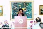 副總統呂秀蓮女士蒞館觀賞「施翠峰教授創作五十五年回顧展」