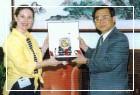 哥斯大黎加外交部長夫人Excma. Sra. Felicia Castro來訪