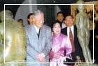 李前總統登輝先生伉儷觀賞「六五台陽◆甲子風華特展」