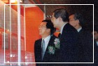 陳總統水扁先生蒞臨「美麗島事件檔案展」開幕式並參觀展覽