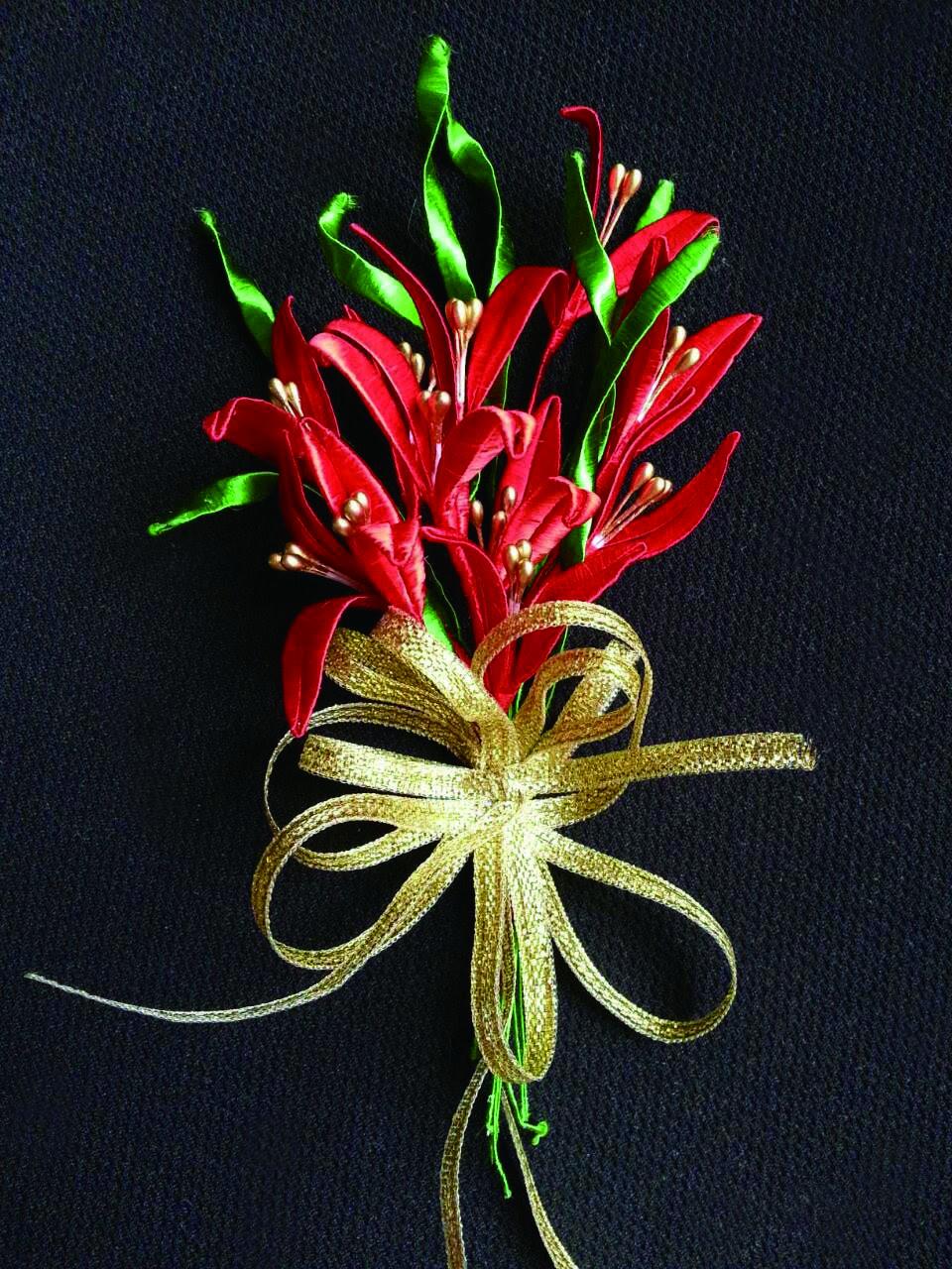 纏花是台灣早期婚禮的必備飾品。.jpg