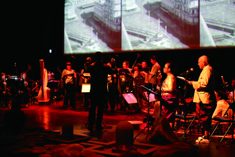 圖5. 音樂總監古育仲與台北愛樂文教基金會在《南國悲歌》扮演了極為關鍵的角色。.JPG