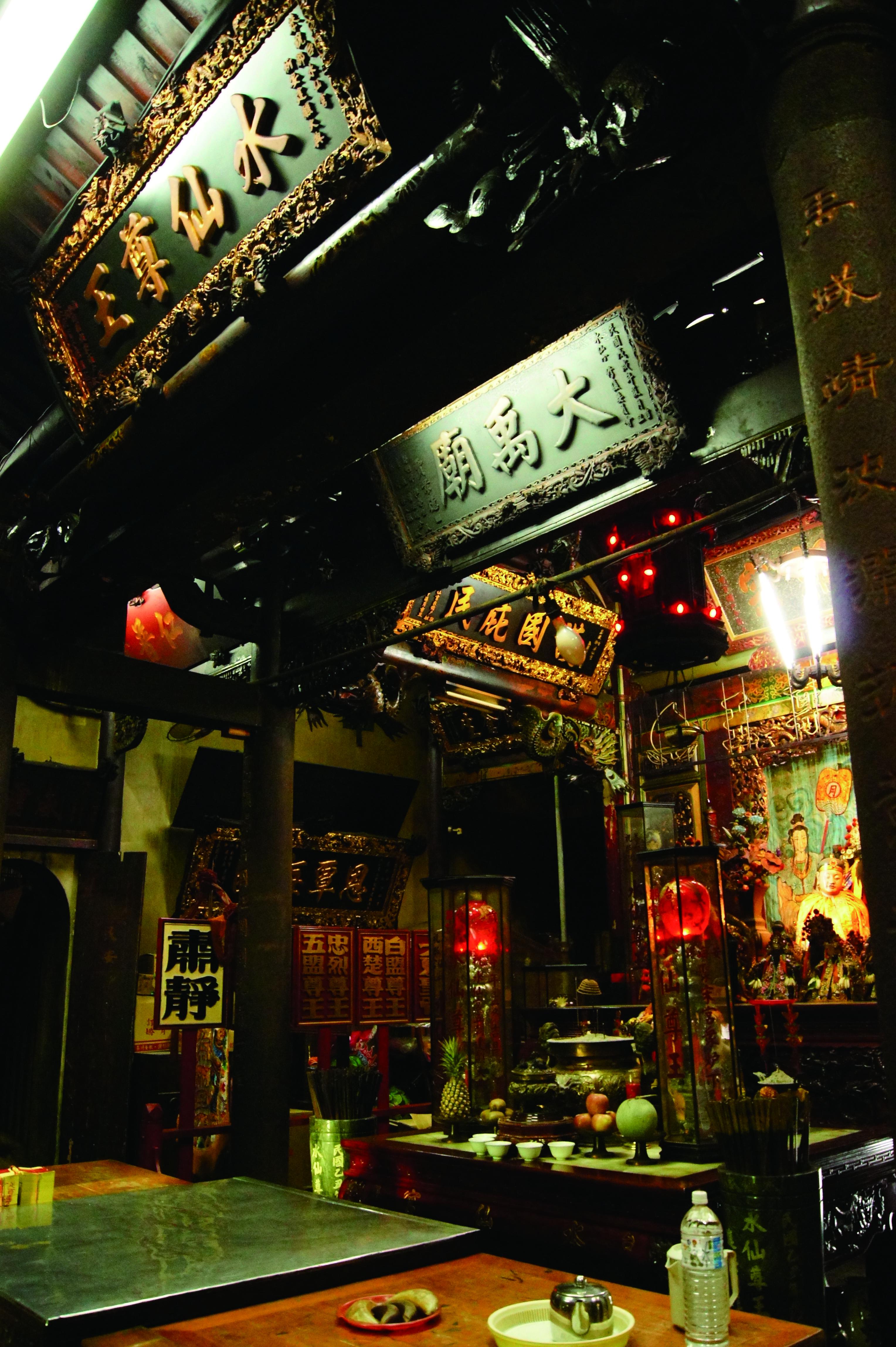 台南的城市發展與水文化息息相關,衍生出多元的信仰。.JPG