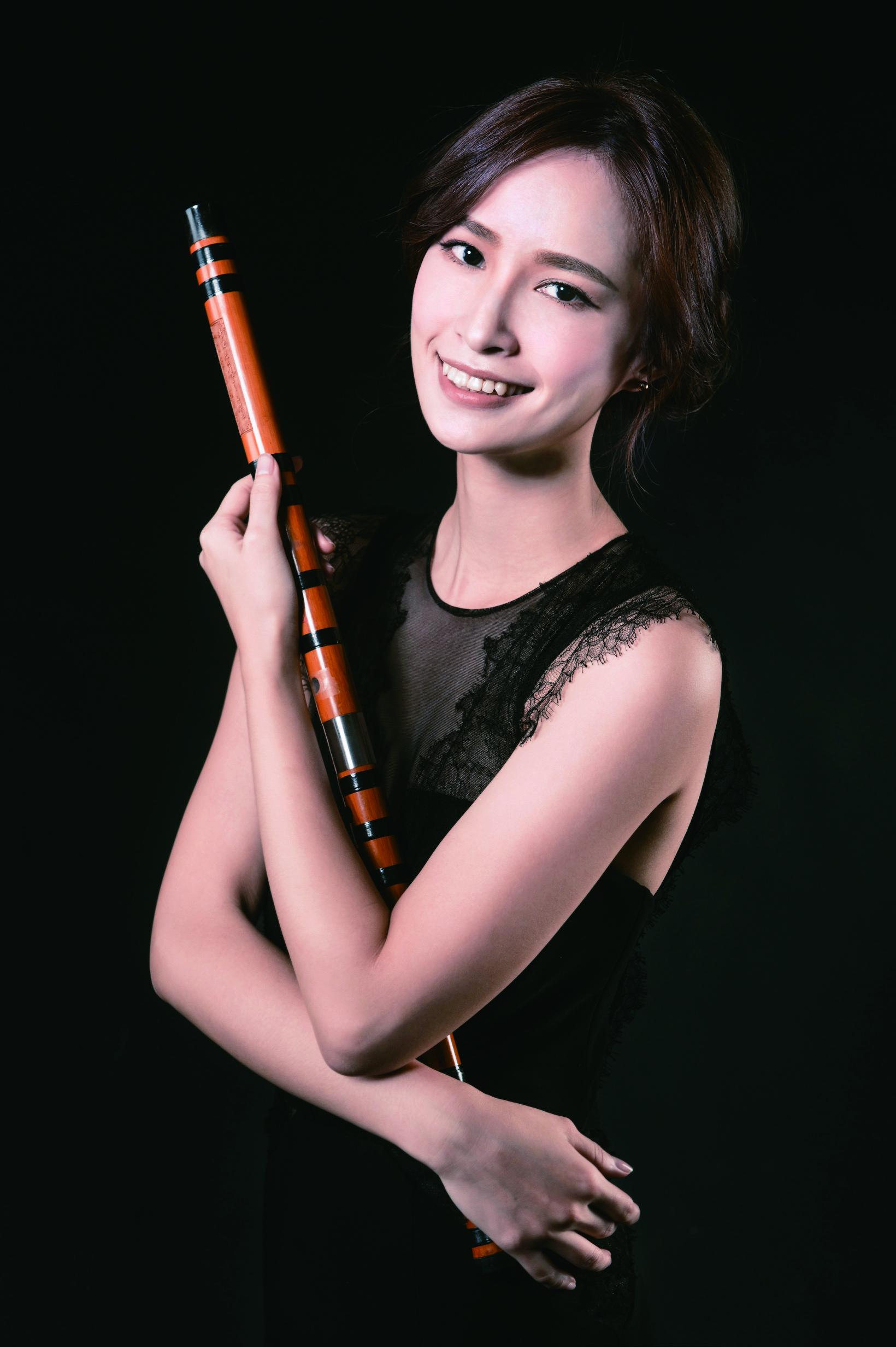 竹笛是李宛慈小五時開始學習的樂器.JPG