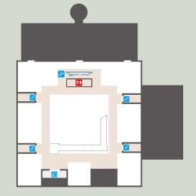 康樂本館三樓平面圖