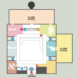 康樂本館二樓平面圖