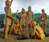 史前人的生活樣貌想像場景