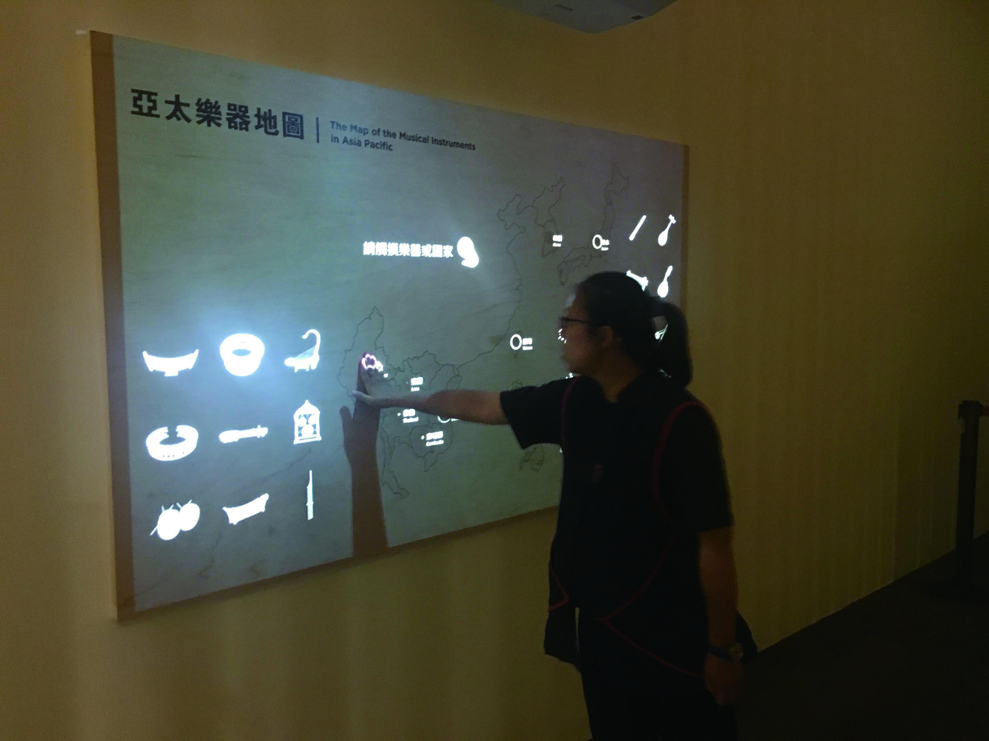 圖八:亞太樂器地圖的互動裝置,未來將運用先端科技以突破場地限制。.jpg