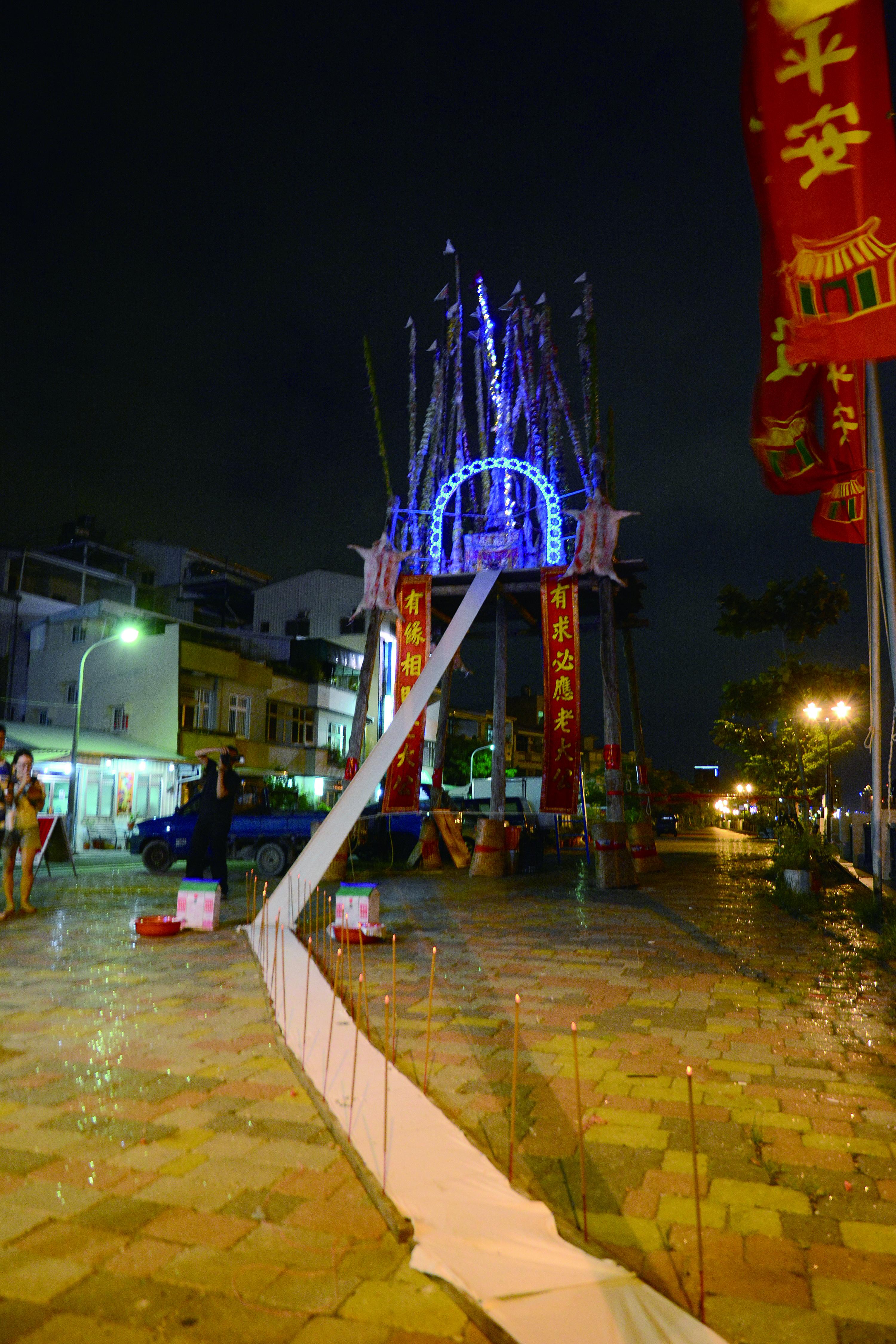 圖5安平孤棚祭在運河邊舉行。.JPG
