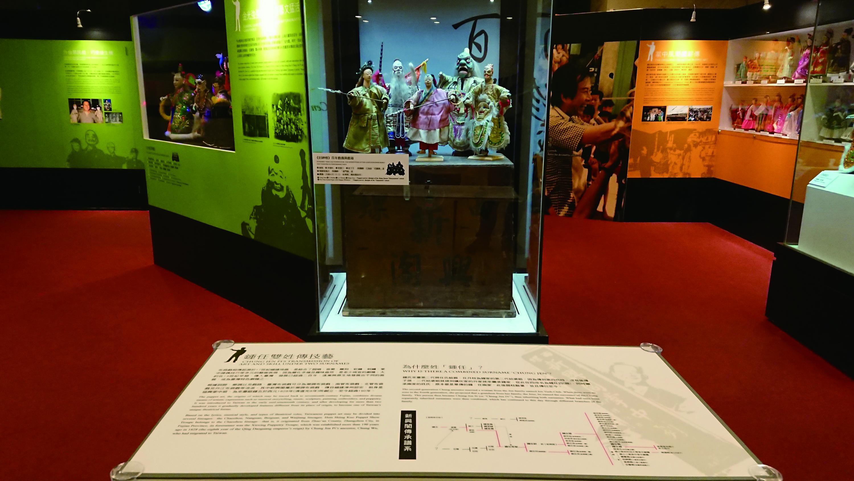 圖10本次展覽展出的《封神榜》戲偶,由新興閣第三代傳人鍾任秀智傳承至今, 已有一百多年的歷史。.jpg