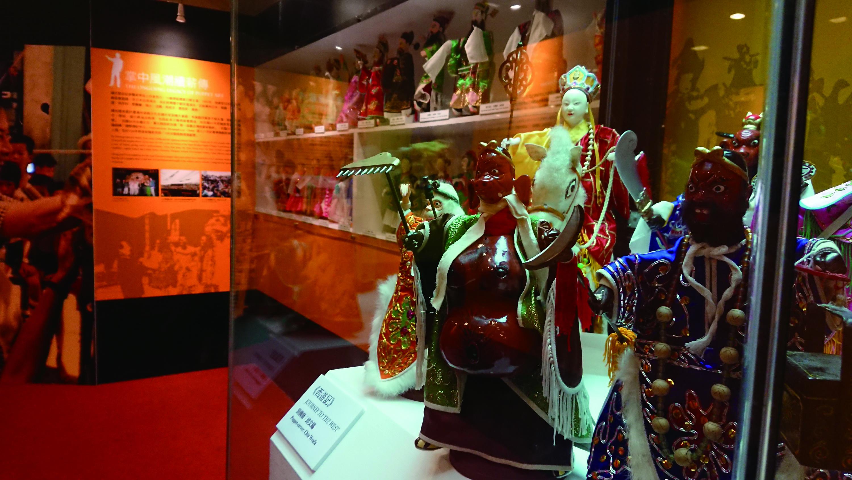 圖4《西遊記》是鍾任壁老師1982 年首次至日本巡演的劇碼之一,希望透過國際知名的《西遊記》故事,讓外國觀眾更容易了解布袋戲的魅力。.jpg