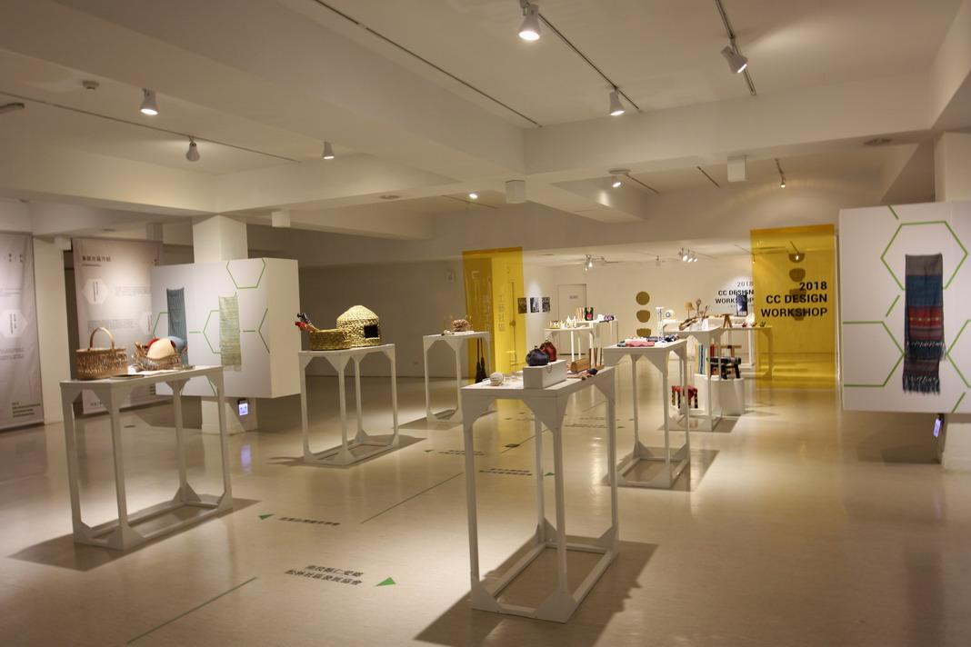 B1F-在地工藝進化論展 -結合不同工藝原料形成心的跨媒材實驗強調創新與創意工藝展覽