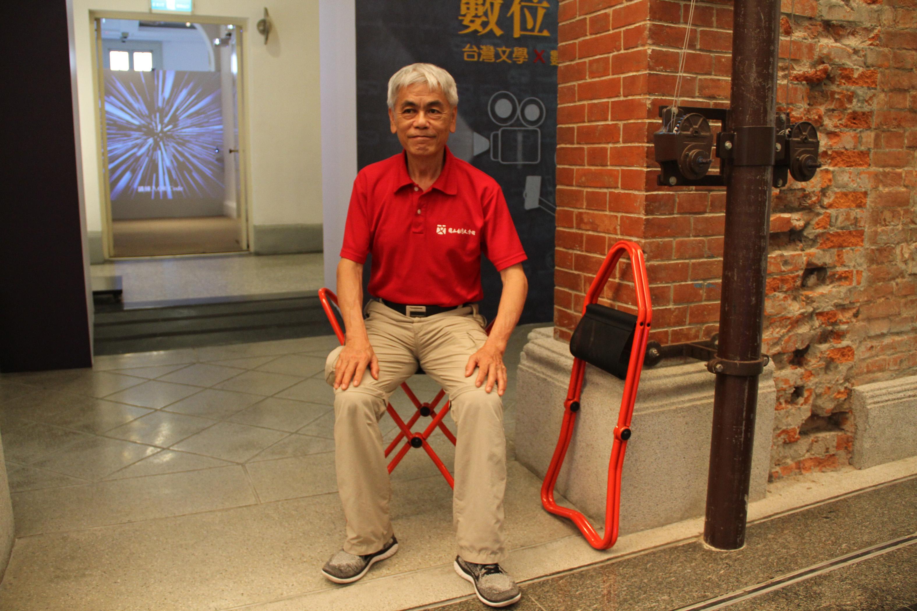 新推出博物館椅借用服務,讓觀眾與年長者觀展更舒適.JPG