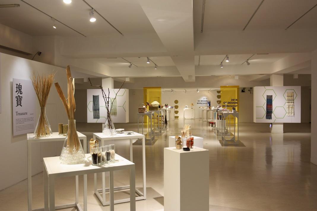 B1F-在地工藝進化論展 -以萬物為主題的植物染及瑰寶為主題的編織作品
