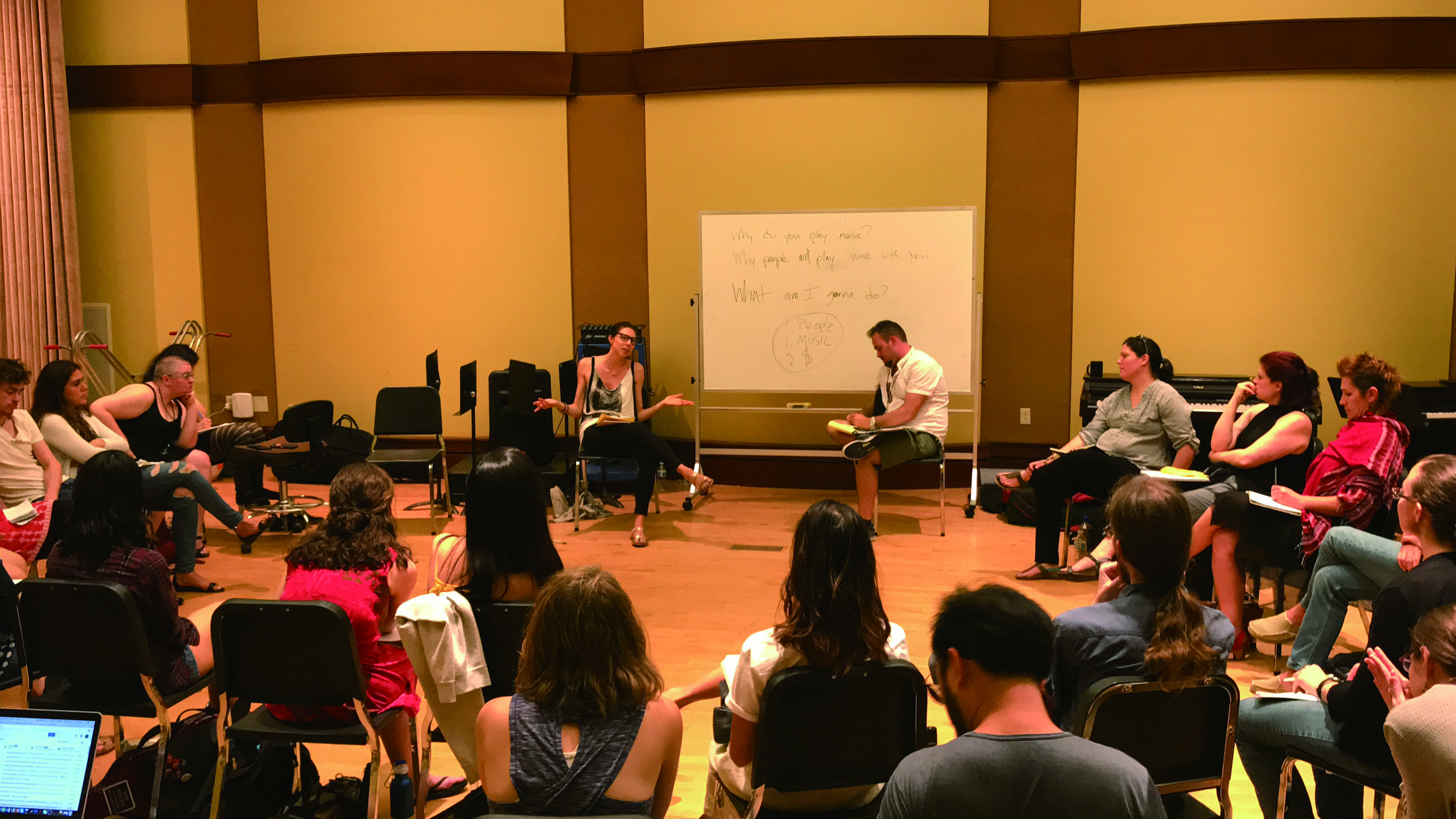 圖8從校園步入職場,大家最關心的議題,音樂家職涯規劃、樂團經營的經驗分享。.jpg