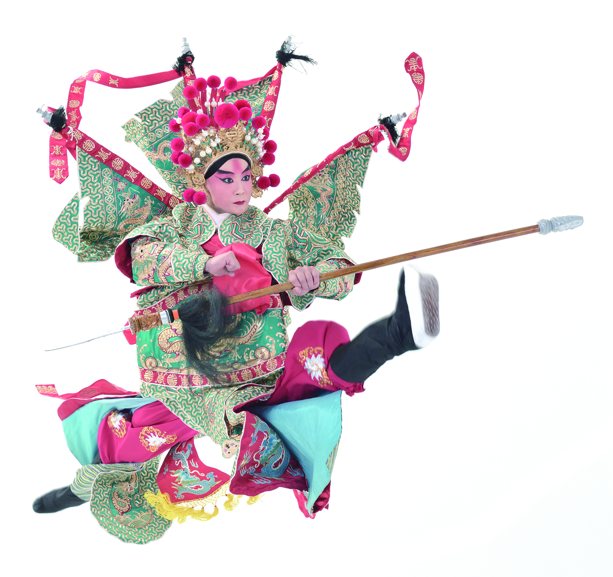 圖10新秀演員李家德在《挑滑車》裡飾演高寵,其武戲實為精彩。(國立傳統藝術中心提供).jpg