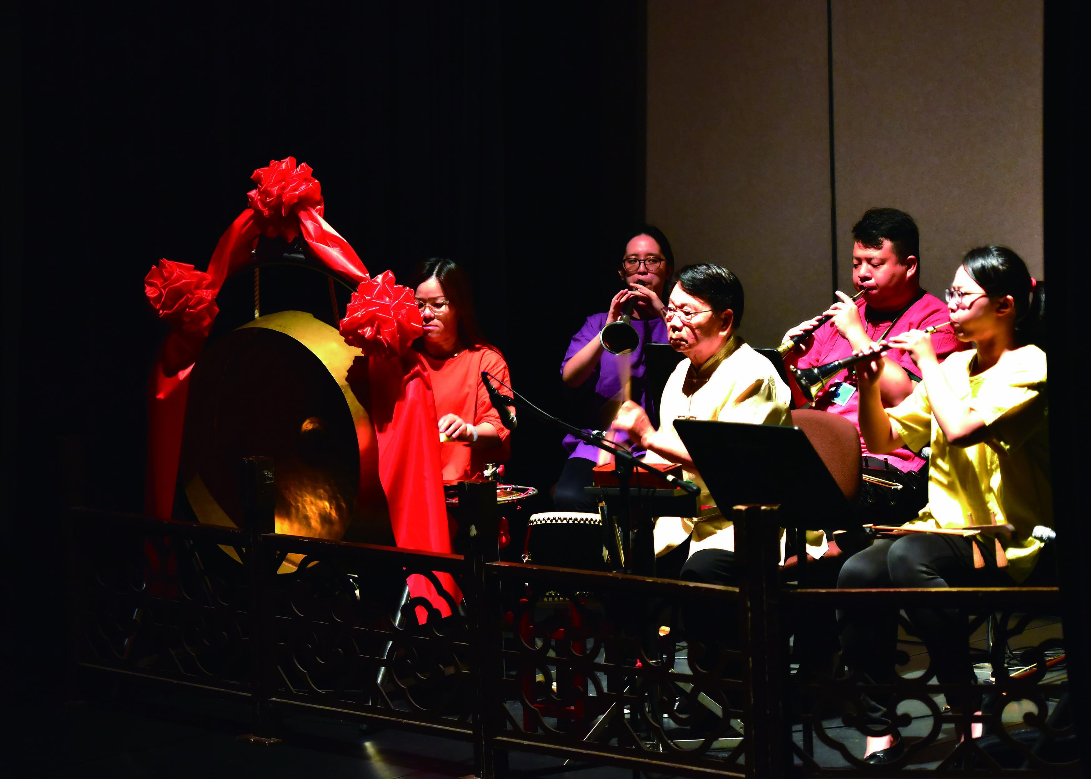 圖6漢陽積極招收年輕團員,讓北管戲曲的傳承有路走。(漢陽北管劇團提供).jpg