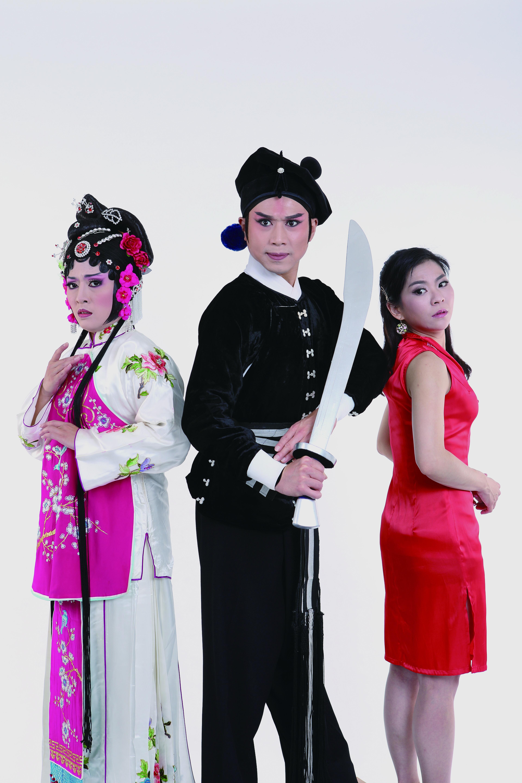 許亞芬歌子戲劇坊《潘金蓮與她的男人們》,潘金蓮由現代女子及古代女子分飾,透過對話還原潘金蓮的真實樣貌。.JPG