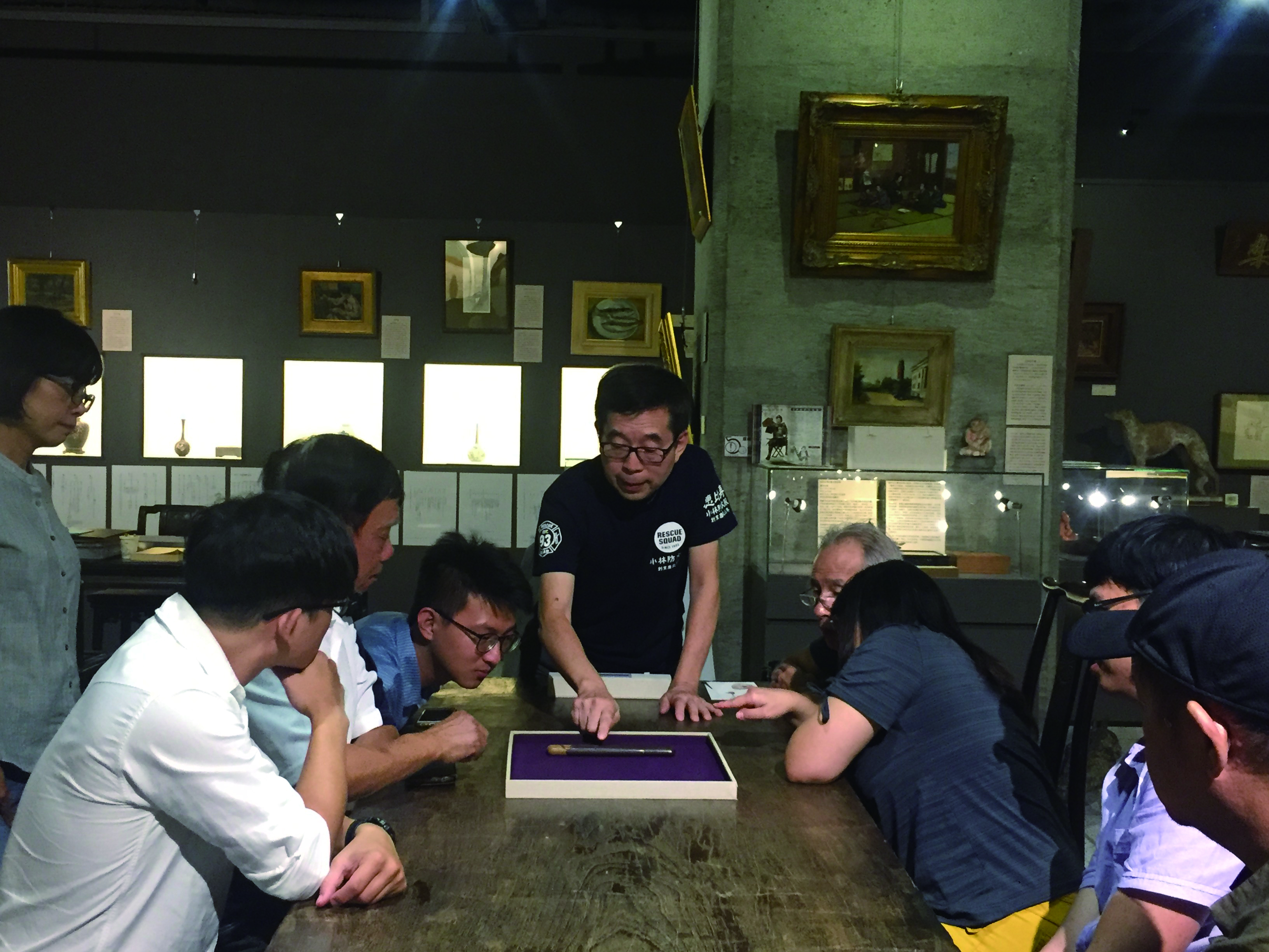 11-107 年9 月份,安排藝生至高雄臺灣50 美術館進行參訪,並邀請郭鴻.JPG