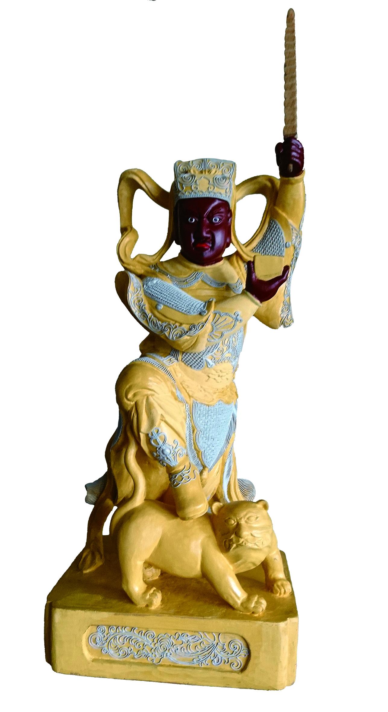 圖4 「粧佛」是製作神像的傳統技藝。( 施世曈提供).jpg