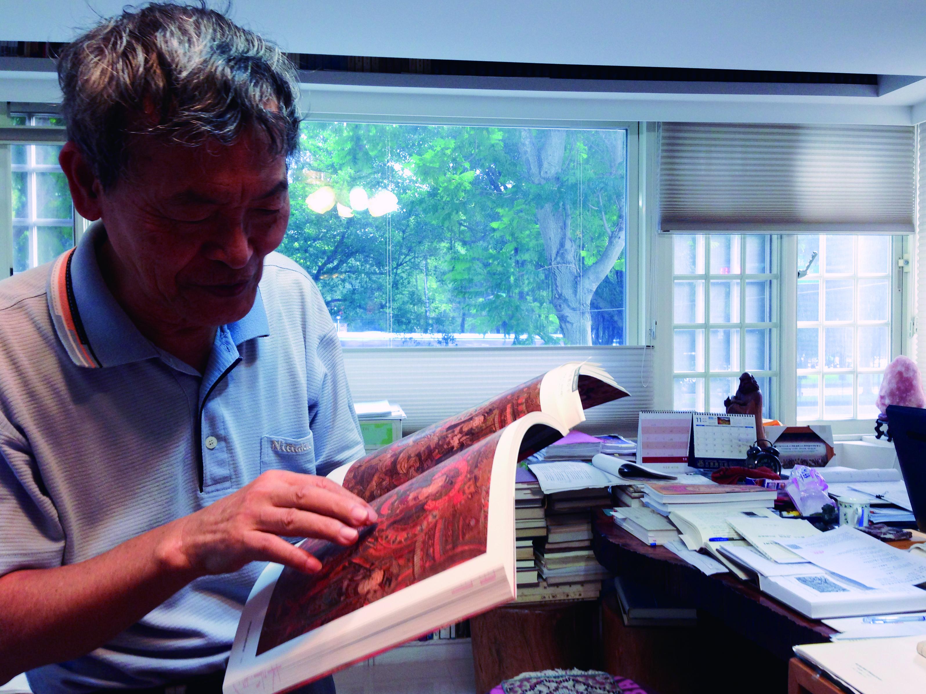 圖2 林保堯在淡江文理學院的東方語文學系修習日語。( 張芮慈攝影).jpg
