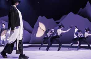 服裝秀結合街舞演出,巧妙交融而無違和感。.jpg