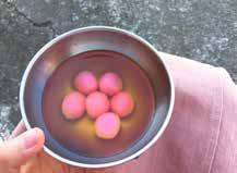 祭神與喜事用的湯圓,得做成粉紅色,不能用白色。.jpg