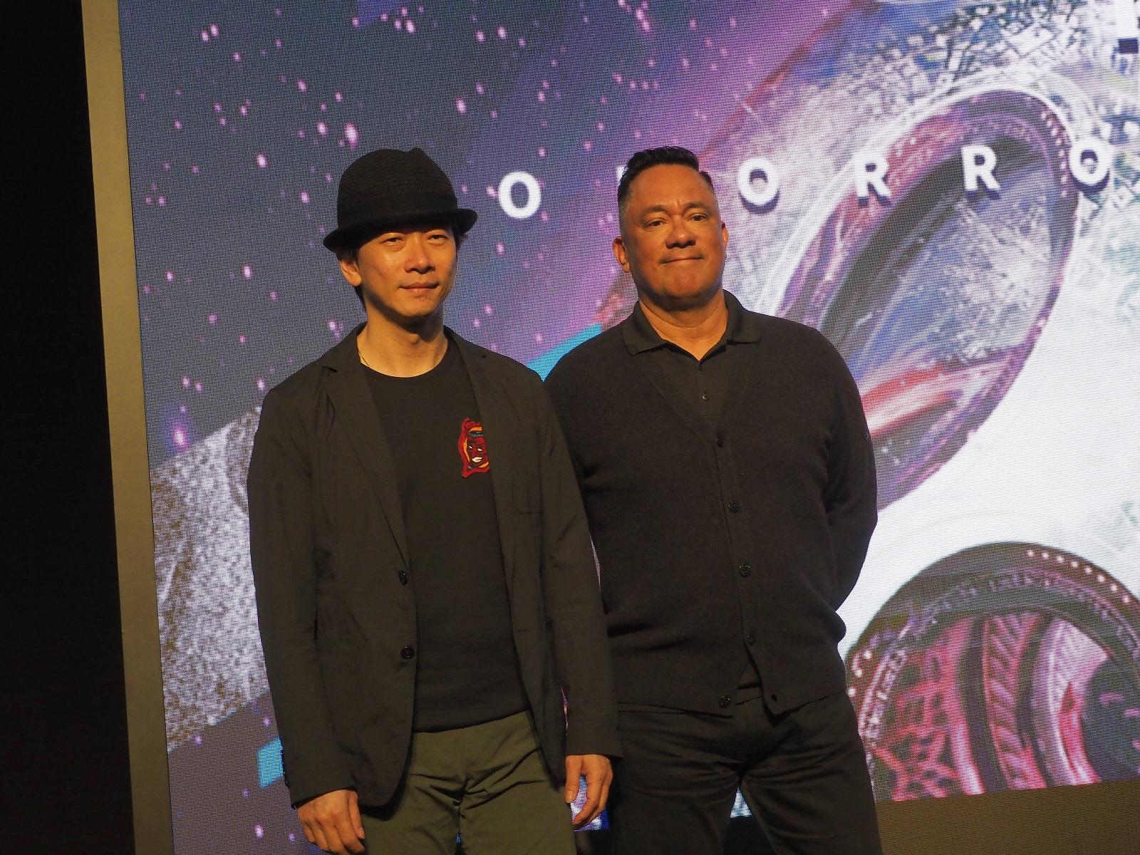 台灣動畫電影《八戒》主創人員:導演邱立偉(左起)、製片人JOE AGUILAR(喬 阿奎拉)-縮小.jpg