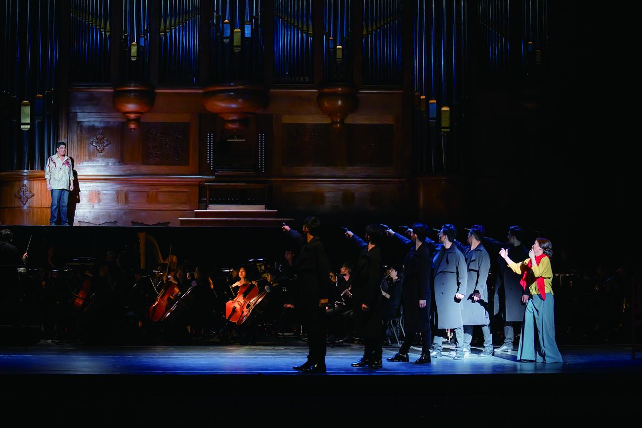 雲門舞集藝術總監林懷民,於2019年應國家交響樂團之邀,重新執導歌劇音樂會《托斯卡》。.jpg