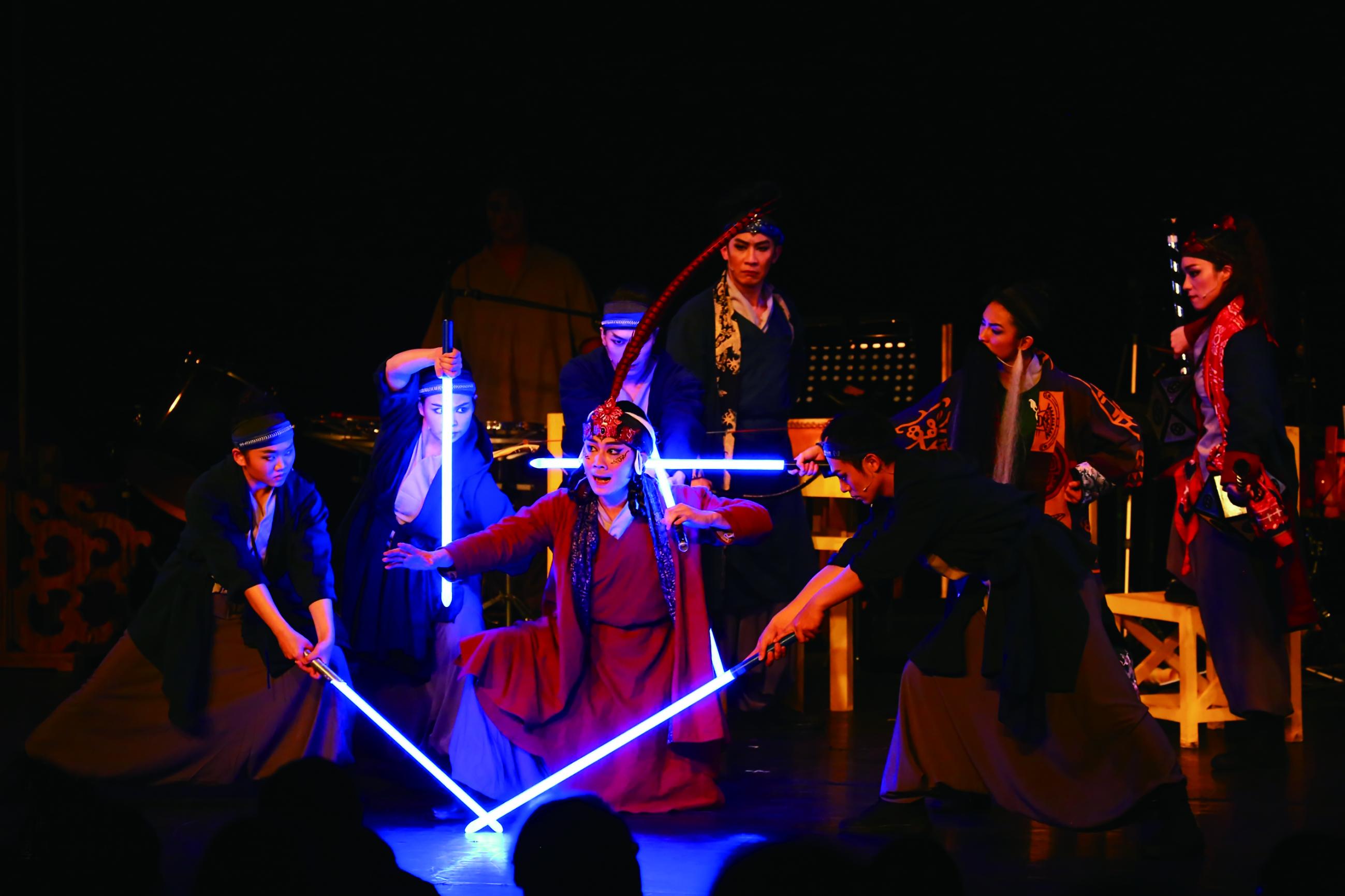 第五屆柏優座推出《行動代號莫須有》,該團連續五年獲得青藝節青睞。.jpg