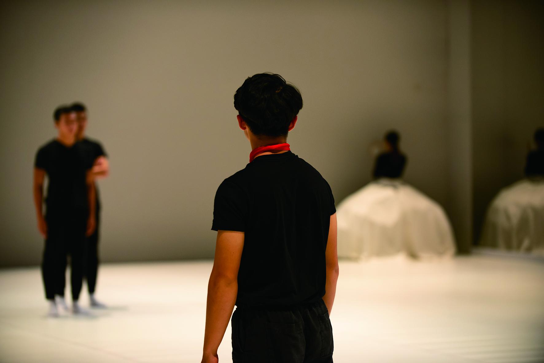 國立臺灣戲曲學院學生受邀至香港文化中心,演出《驚夢》。.jpg