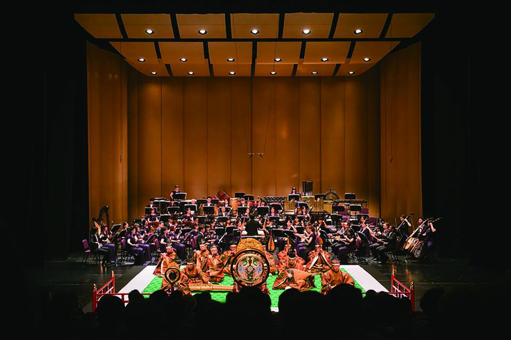 本屆藝術節除了北之台雅樂会的專場之夜,另外由臺灣國樂團共同精心策畫了《雅正之樂 — 日本雅樂的音樂風情II》,並與北之台雅樂会輪番登場。.jpg