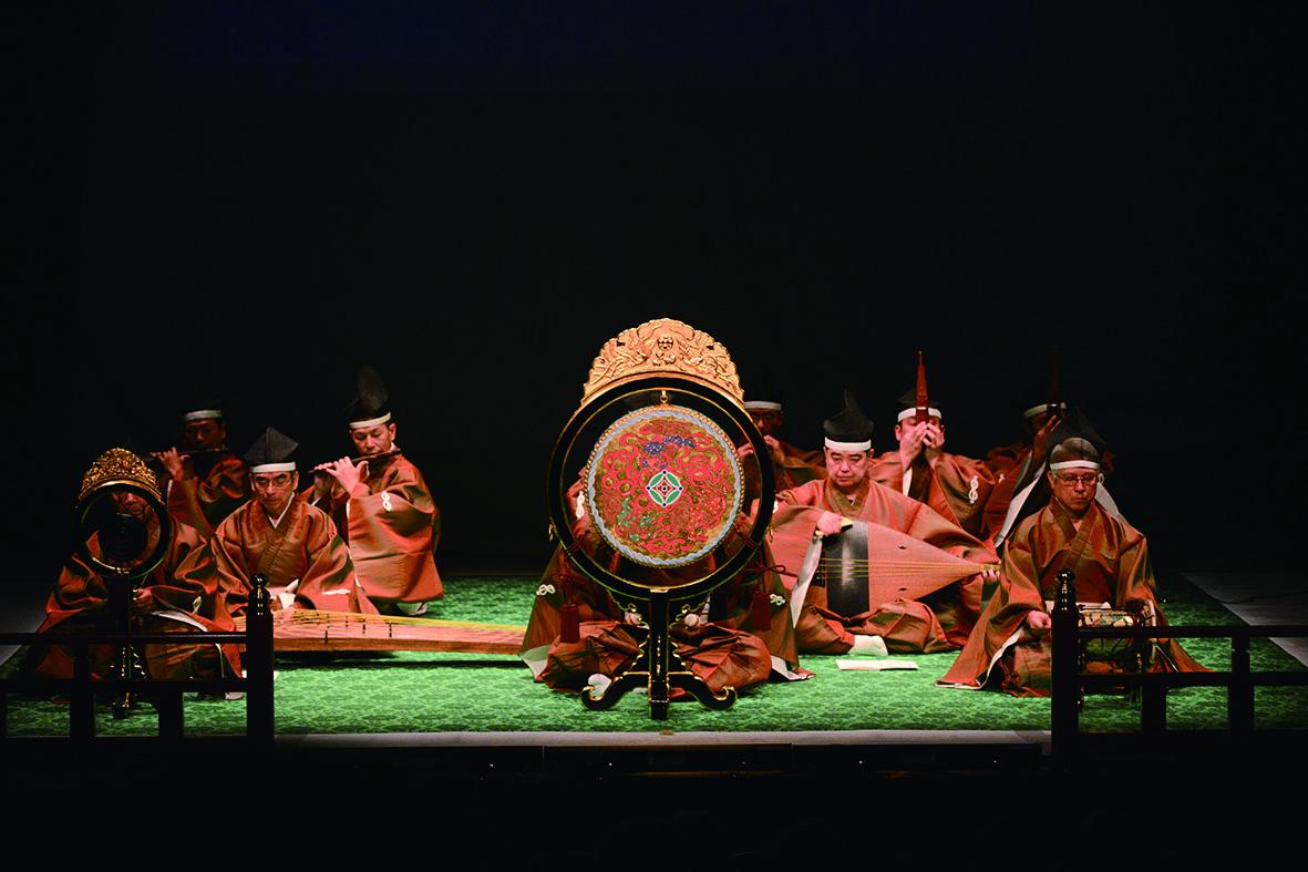 「戲曲經典」單元《雅正之樂》由日本北之台雅樂会演出。.JPG