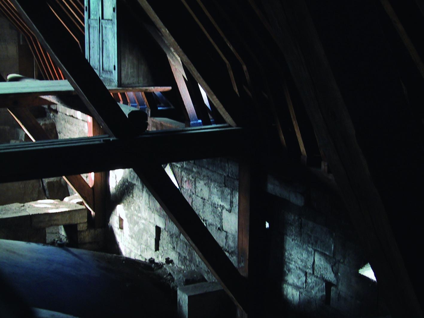 巴黎聖母院十三世紀完工之屋價(筆者攝於2001年1月13日).JPG