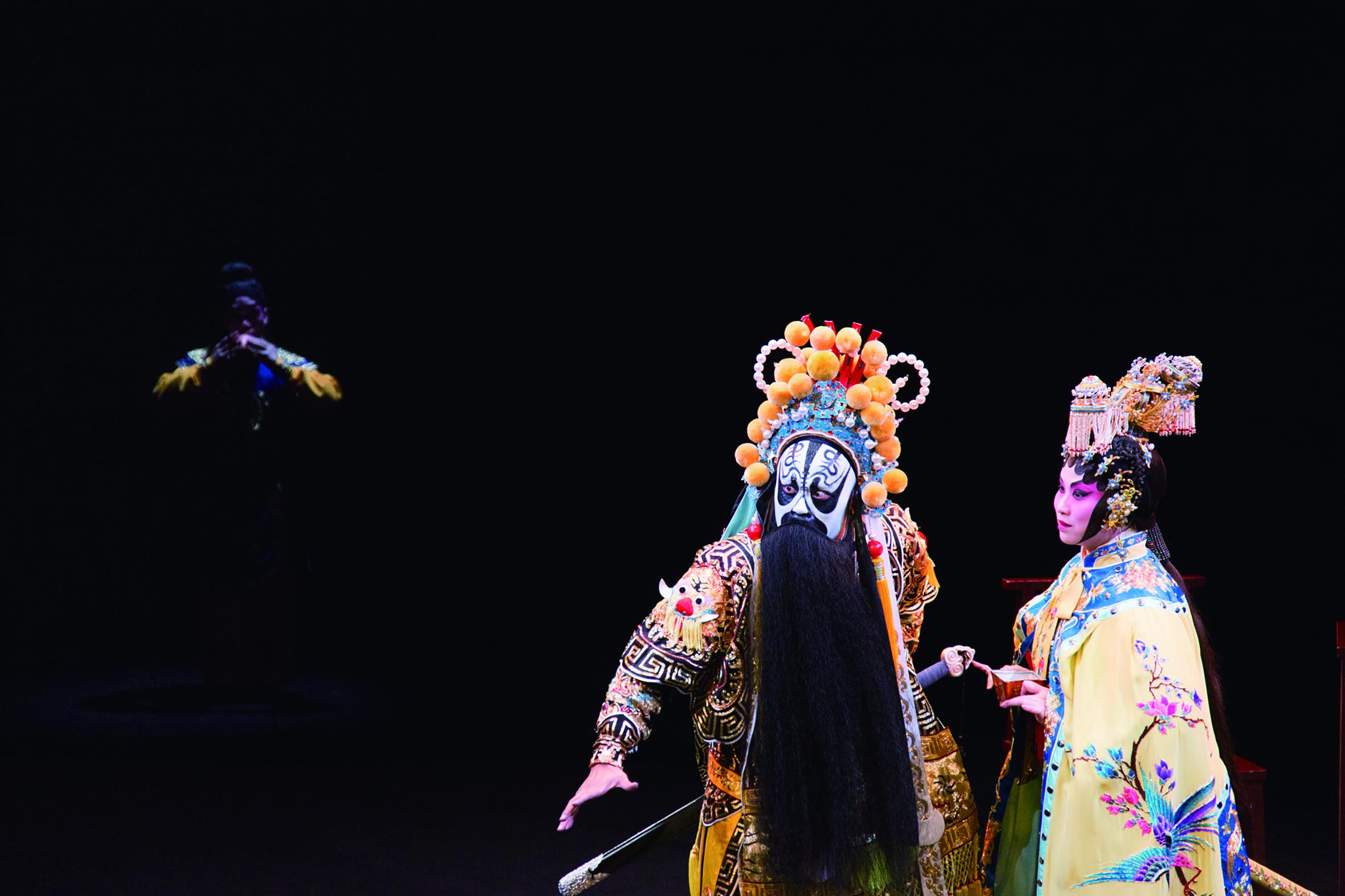 香港西九文化區戲曲中心演出的《霸王別姬》劇照。.jpg
