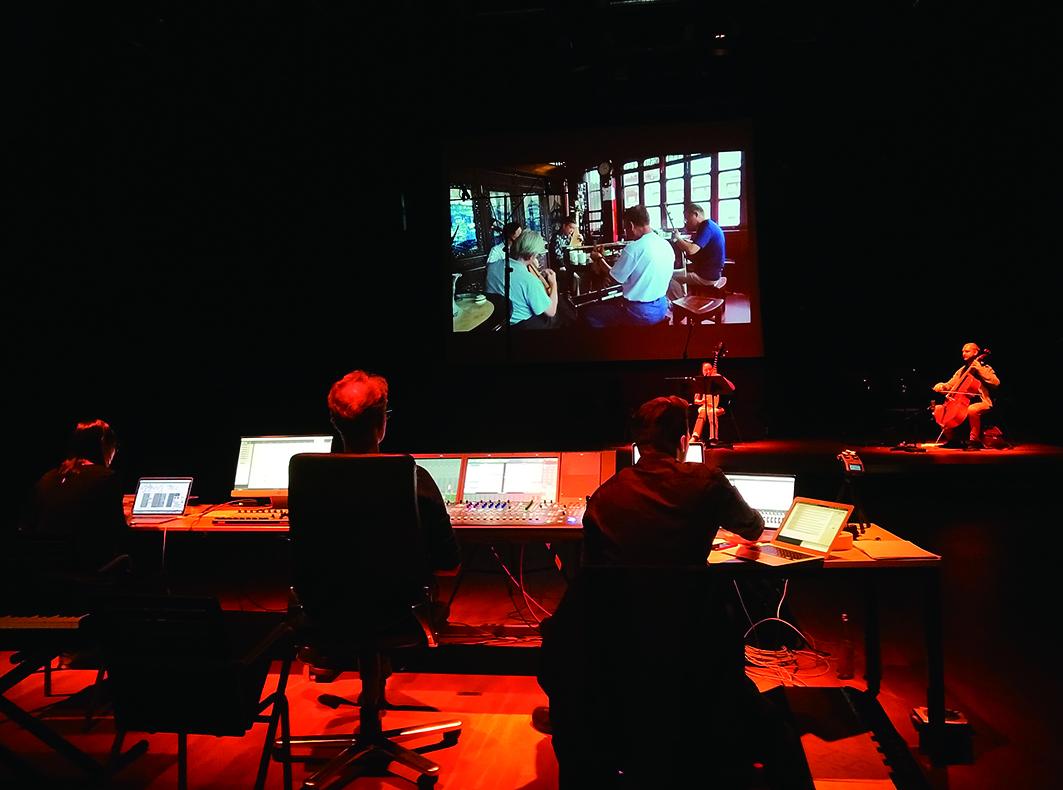 多媒體的影像與音樂搭配,已經成為當代音樂會呈現經常被使用的重要元素。.JPG